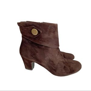 Steve Madden Ankle Boots Booties Brown 10 Suede